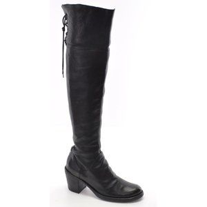 Fiorentini + Baker Black Over The Knee Boots 37.5